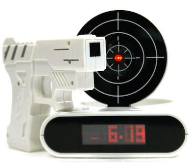 Alarm Clock Gun