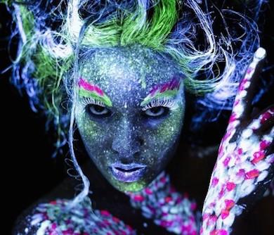 Blacklight Face Paint