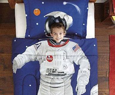Kids Astronaut Bedding Set
