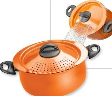 Pasta Pot with Strainer Lid