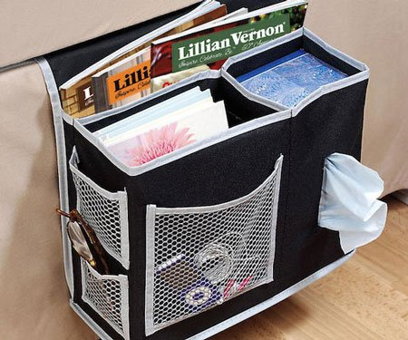 bedside storage caddy