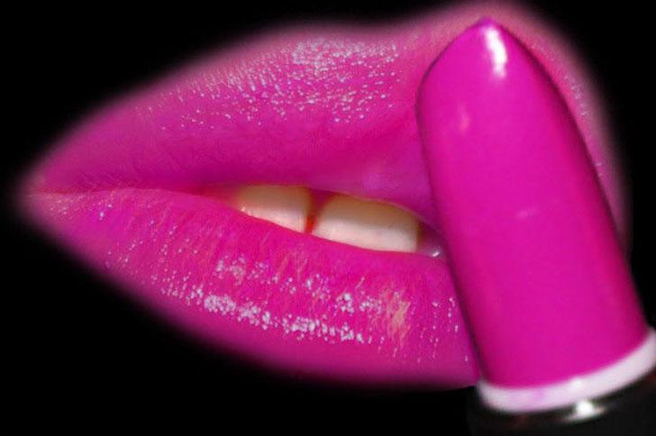 black light lip stick