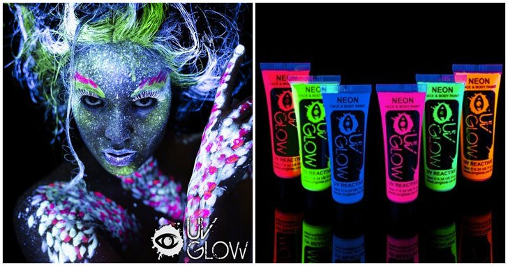 Blacklight Face Paint Awesomes Stuff 365