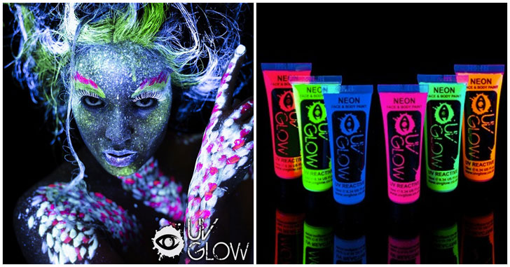 Miraculous Blacklight Face Paint Awesomes Stuff 365 Home Remodeling Inspirations Genioncuboardxyz