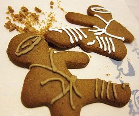 ninja bread men cookie cutters
