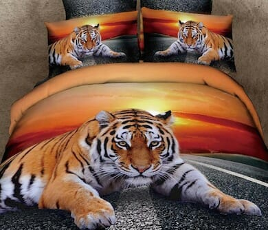 Tiger Duvet Set