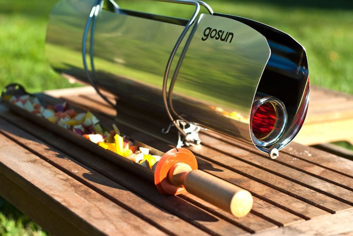 Solar Powered Grill