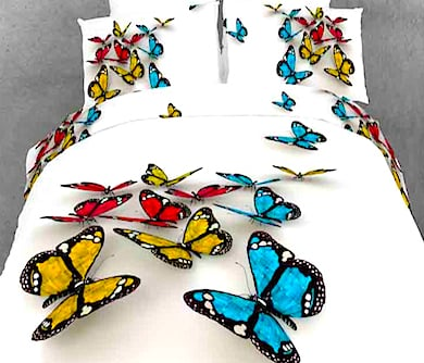 3-D Butterfly Bed Set - a must have for every little girl