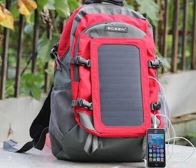 Backpack Solar Charger
