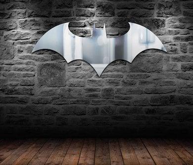 Batman Logo Mirror