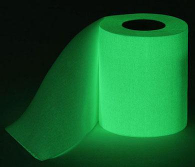 Glow in the Dark Toilet Paper