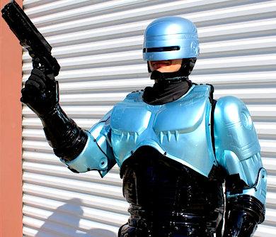 Handmade Robocop Costume