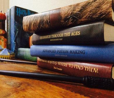 Harry Potter School book Covers