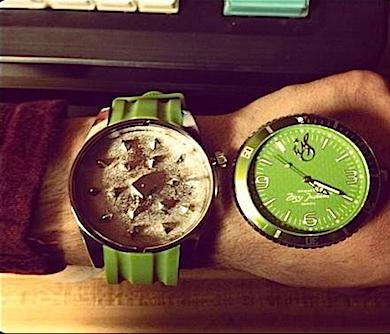 Herb Grinder Watch