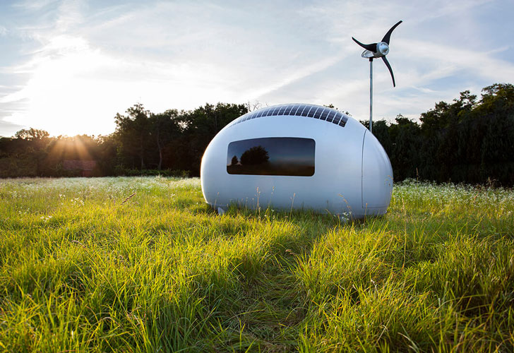 Portable Self Sufficient Capsule House