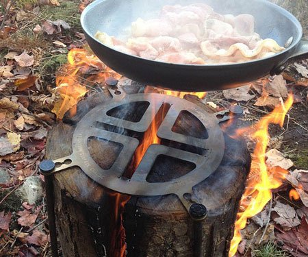 Swedish Log Cooking Stove