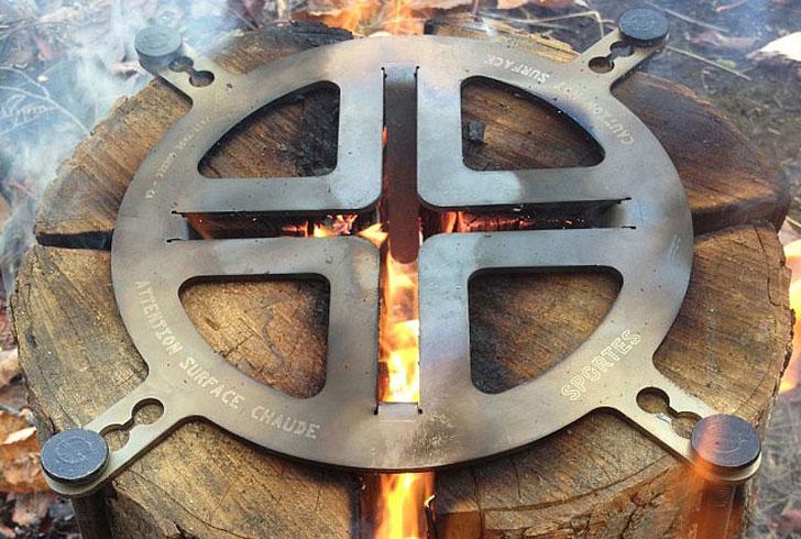 Swedish-Log-Cooking-Stove