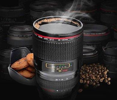 The Camera Lens Coffee Mug