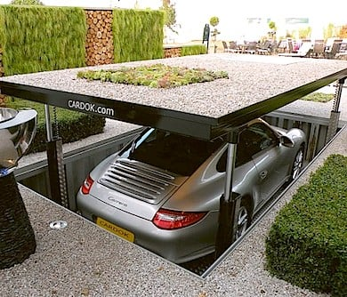 The Underground Car Parking Dock