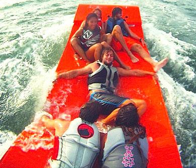 Towable Water Raft