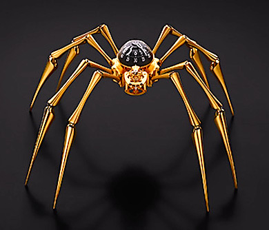 Wall Spider Clock