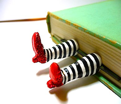 Wicked Witch Legs Bookmark