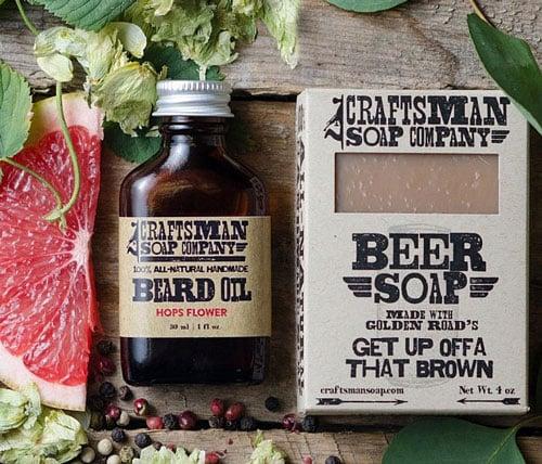 Beard Soap And Oil Kit