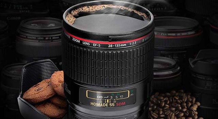 camera lense coffee mugs