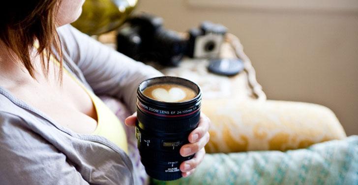 camera lense coffee mugs