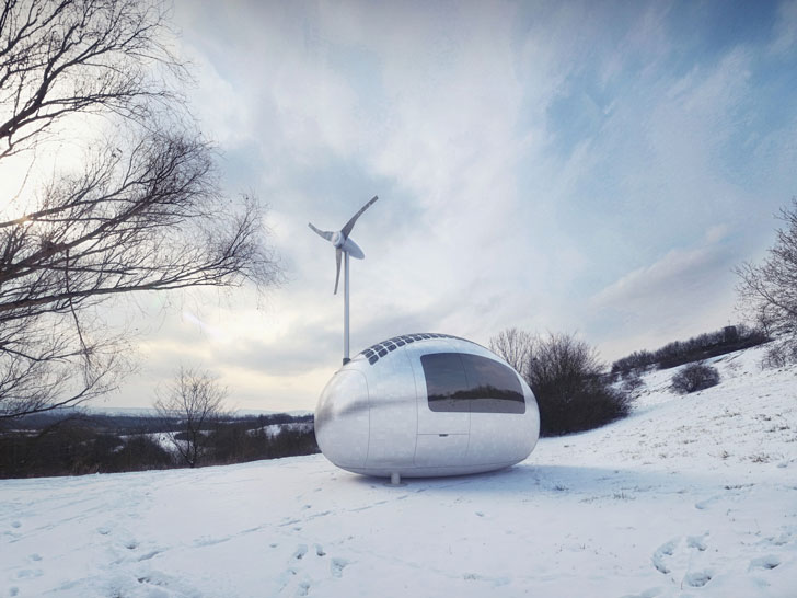 Self Sufficient Capsule House