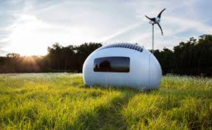 Portable Self Sufficient Capsule House Awesome Stuff 365