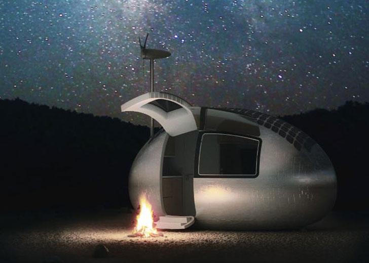portable self sufficient capsule