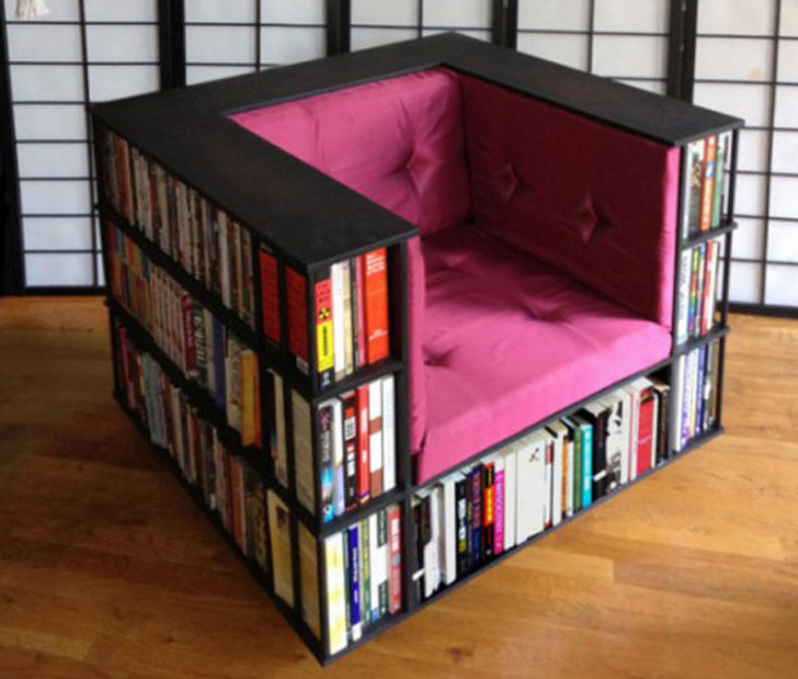 the bookcase chair