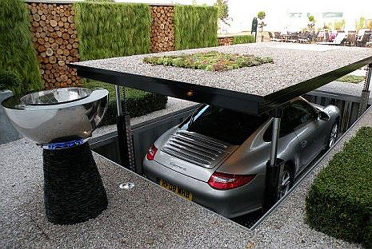 The Underground Car Parking Dock - Awesome Stuff 365