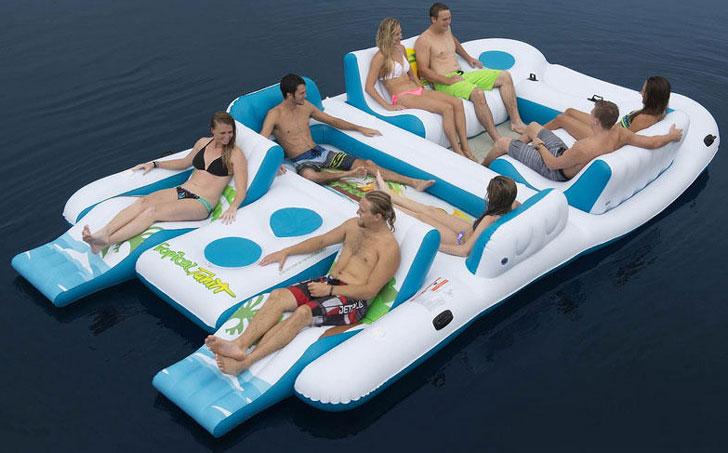 Floating Island Raft