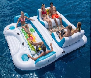 Floating Island Raft