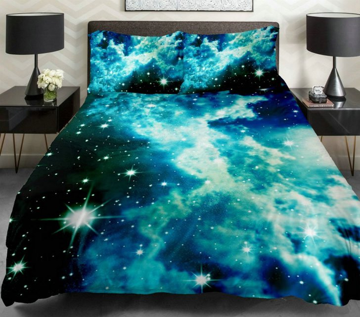 Galaxy Bed Duvet Covers Awesome Stuff 365