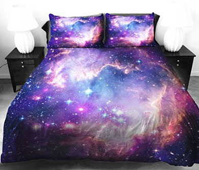 galaxy bed duvet cover