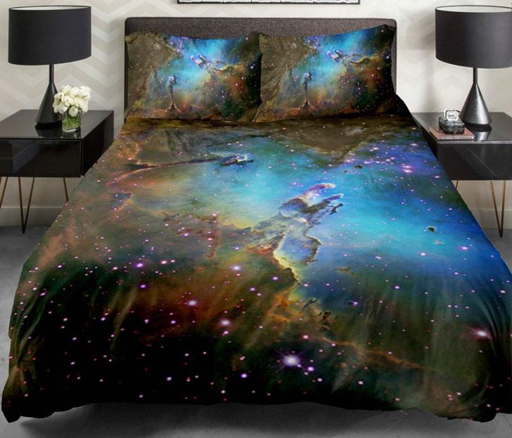 galaxy bed duvets
