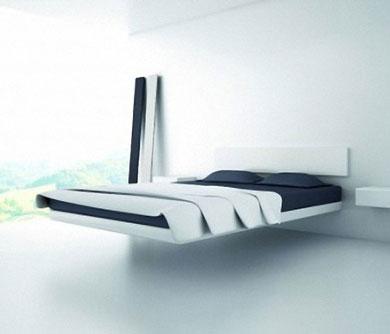 Modernism Levitating Bed