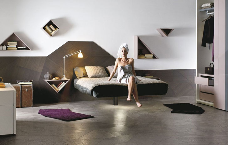 Modernism Levitating Bed