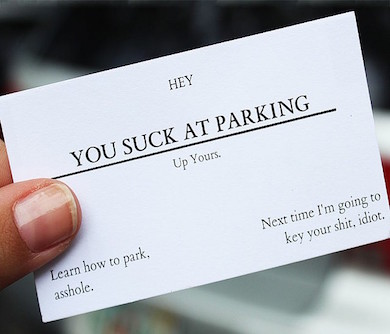 Offensive Business Cards
