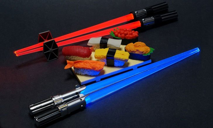 Star Wars Light-up Chopsticks