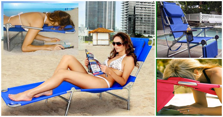 face down sun lounger