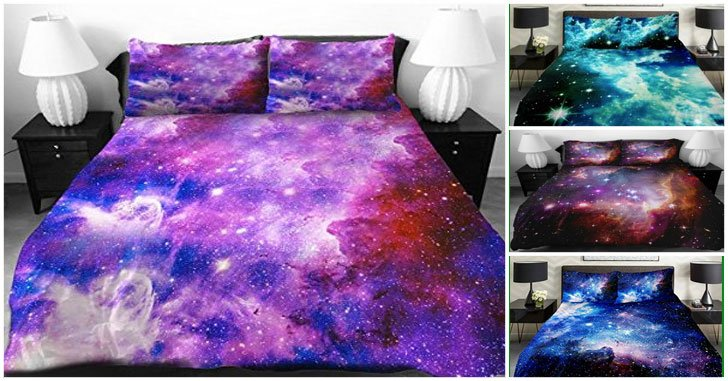galaxy duvet covers
