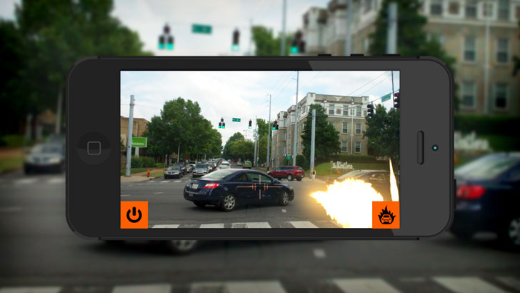 Blow-Up Traffic App