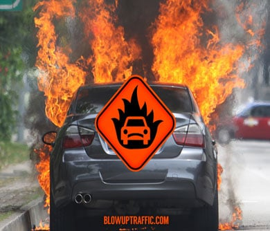 Blow-Up Traffic App