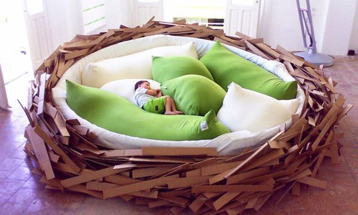 Giant Bird Nest Bed