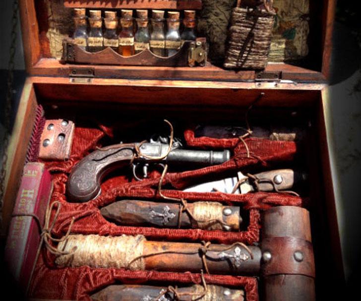 19th-Century Vampire Killing Kit