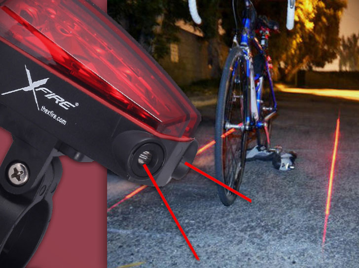 Bike Lane Safety Light xfire